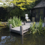 Ponds and decking